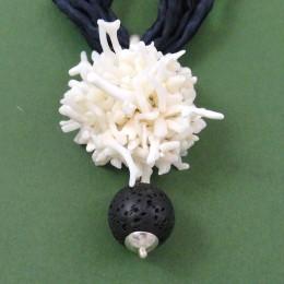 riccio corallo bianco