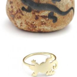 anello geco orogiallo