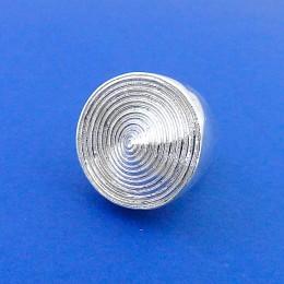 anello millerighe argento