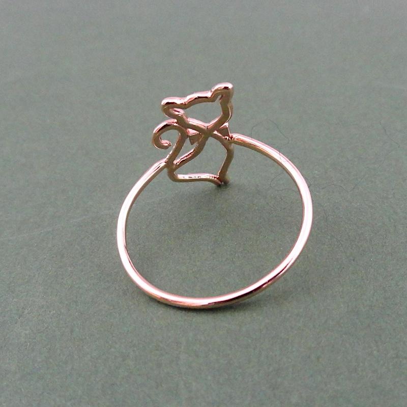 informazioni per e160d d37b8 anello gatto - Checco Russo Gioielli