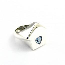 anello casa argento