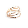 anello bambu'oro rosa