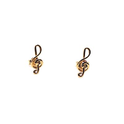 orecchino chiave di violino